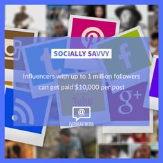 General guideline on how much money an influencer can make per post based on the number of followers they have: 5 - 10k 💵 $100-$500 10k - 25k💵 $500-$800 25k - 50k💵 $800-$1500 50k - 100k💵 $1500-$2000 100k - 250k💵 $2000-$6000 250k - 1m💵 $6000-$10000 1m+💵 $10000+ #advertisingagency #marketingplan #marketingtools  #marketingstrategy  #marketingtips  #marketingdigital  #marketingonline  #digitalagency #marketingagency  #wealth #marketingteam  #marketingmanager  #socialmarketing… Marketing Plan, Marketing Tools, Online Marketing, Social Media Marketing, Digital Marketing, Marketing Consultant, Advertising Agency, Brand Ambassador, Facts