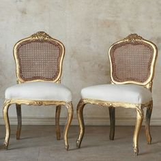 Louis XV Vintage Side Chair