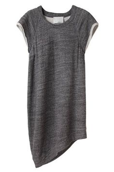 3.1 Phillip Lim cut-off sweatshirt dress - All Dressed Up - Discover More Shopping - ELLE