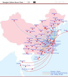 Hong Kong Airlines Route Map | Destinations In China And Asia ...