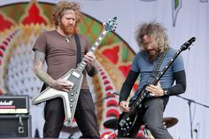 Brent Hinds + Troy Sanders