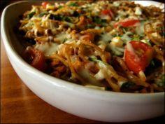 Soijarouhe-spagettipaistos