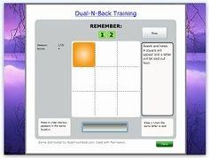 Memory Improvement training