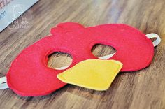 Angry Birds Mask (with Pattern)