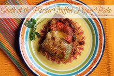 South of the Border Stuffed Pepper Bake Casserole