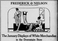 Frederick & Nelson White Sale. The Seattle star. (Seattle, Wash.), 03 Jan. 1921.