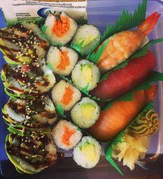 °I LOVE SUSHI° — boxingcleavers: #sushi #sushisampler #nigiri...