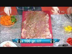 Hoy cocinamos: Matambre arrollado al horno - YouTube