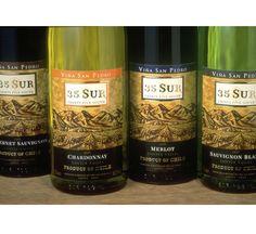 Vina San Pedro 35 Sur wine packaging