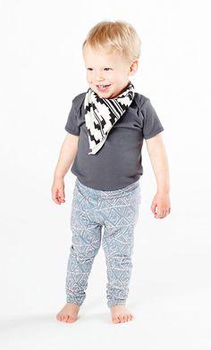geo leggings / thief & bandit kids
