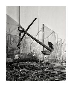 """Caudio Parmiggiani """"Apocalypsis cum figuris"""" Palazzo Fabroni 2007, a Ccura di Jean Clair. Foto Carlo Chiavacci."""