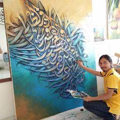 #robians #calligraphy #kaligrafiindonesia