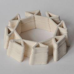 3D printed ceramics by Brian Peters