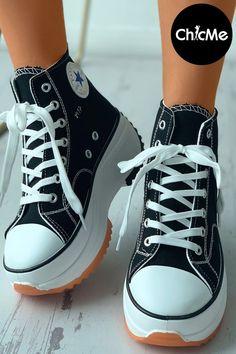 Sneaker Heels, Wedge Sneakers, High Top Sneakers, Shoes Sneakers, Sneakers Wallpaper, Shoes Wallpaper, Sneakers Fashion Outfits, Fashion Shoes, Zapatos
