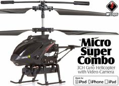 BUILT IN VIDEO CAMERA ReadytoFly RTF Super Micro Helicopter with Spy Camera WLTOYS S215 for iPad iPhone Android tablet -- Want to know more, click on the image.Note:It is affiliate link to Amazon. #followme