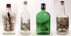 Mindblowing Smoke Art Made Inside Bottles