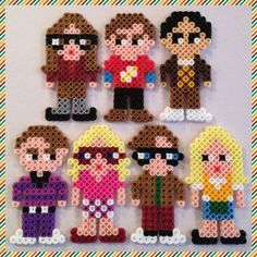 big bang theory penny perler beads - - Yahoo Image Search Results