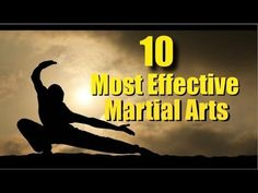 """In this video I share my personal opinion on the top ten martial arts in order of effectiveness. NOTE: When I say """"traditional"""" karate, I actually ment """"Spor..."""