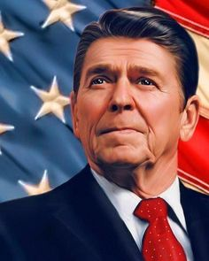 What is a good introduction paragraph for a research paper on ronald reagan?
