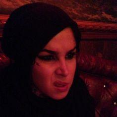 """Hannah"" is harshing our mellow… @imnotarobotgirl @Kat Von D [April 2nd, 2014 via Tony] Kat von D"