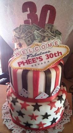 1000 Images About Vegas Slot Machine Cake On Pinterest
