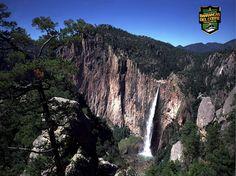 """INFORMACIÓN BARRANCAS DEL COBRE te dice que la  Barranca de Candameña combina espectacularidad y belleza. Destaca porque tiene las dos cascadas mas altas de Mexico: Piedra Volada (453 metros) y Baseaseachi (246 metros). Por lo cual se le conoce como """"La barranca de las Cascadas"""". http://www.chihuahua.gob.mx/turismoweb/"""