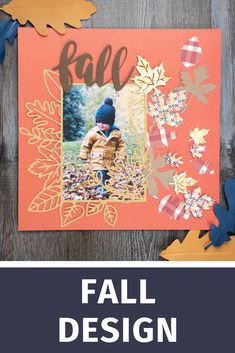 This design is intended to be cut with an electronic cutting machine. Fall Leaves, Silhouette Design, Thanksgiving, Scrapbook, Shapes, Crafty, Halloween, Store, Frame