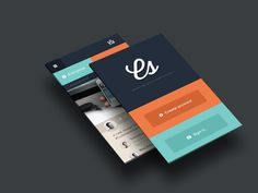 Flat UI  New Mobile Concept by Blaz Robar