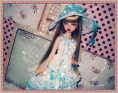 ~ Princess Cameo Emma Grace ~ OOAK Repaint PGR Spa Resin Bjd ~