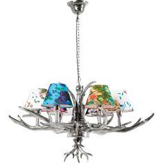 Pendant Lamp Antler Flowers by Kare Design Antler Chandelier, Flower Chandelier, Chandelier Bedroom, Chandelier Shades, Flower Pendant, Chandelier Lighting, Kare Design, Luminaire Suspension Design, Lustre Metal