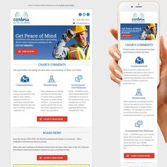 Create a Clean, Modern and Fresh E-Newsletter for a Non-Union Advocacy Organization! by thecreatv