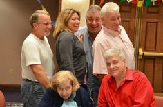 Mom's 87th Bday Party 2011. Guy has a wonderful smile. I miss him so much