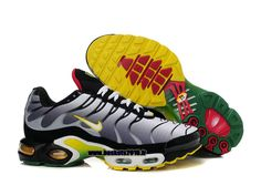 newest 2afe7 bfc33 Nike Air Max Tn Requin 2013 Chaussures Nike Officiel Pour Homme Jaune  Argent Nike Tn Shoes