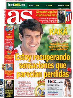 Los Titulares y Portadas de Noticias Destacadas Españolas del 19 de Febrero de 2013 del Diario Deportivo AS ¿Que le parecio esta Portada de este Diario Español?