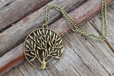 fashion jewelry Vintage Life Tree Necklace