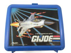 A personal favorite from my Etsy shop https://www.etsy.com/listing/257446172/gi-joe-lunchbox-with-thermos-by-aladdin