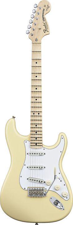 Fender Yngwie Malmsteen Stratocaster Vintage White Maple Neck