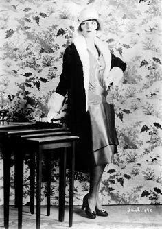 Louise Brooks peinada por Antoine de Paris, los dos símbolos de la época Art Decó.