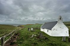wonderfulbritain: Eglwys y Grog (Church of the Holy Cross), Mwnt, Ceredigion, Wales by Carl Welsby on Flickr.