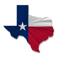 Texas State Flag Wall Décor