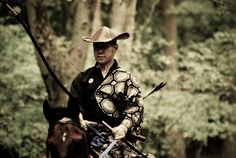Yabusame (流鏑馬?) is a type of mounted archery in traditional Japanese archery