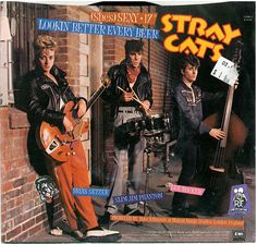 Images for Stray Cats - (She's) Sexy + 17 Rock And Roll, Rock & Pop, Rock Album Covers, Beach Music, Music Express, Phantom, Rocker, Concert Posters, Music Albums