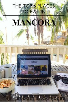 Your ultimate Mancora restaurant guide. The 6 best places to eat while you're surfing and sipping your time away in Peru's ultimate beach town. Things to do in Mancora, Mancora Peru, Mancora travel, Peru travel, 48 hours in Mancora, Where to go in Peru, Things to do in Peru, What to do in Mancora, What to do in Peru, Where to eat in Mancora, Mancora restaurant, Mancora Food