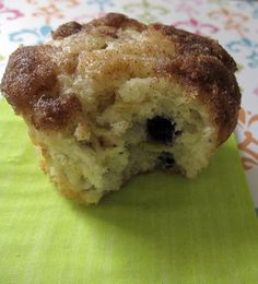 Blueberry, Banana & Sour Cream Muffins