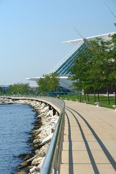 A new favorite... love running  biking along Milwaukee's lakefront!