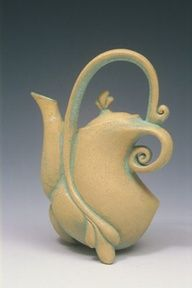 images of pottery teapots handmade - Google Search