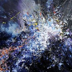 Artist with Synesthesia Paints Music as Gorgeous Splashes of Color - My Modern Met