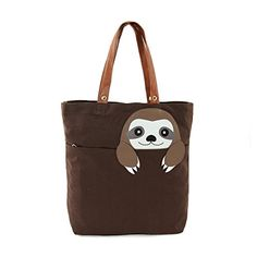 Sleepyville Critters - Peeking Baby Sloth Canvas Tote Bag... https://smile.amazon.com/dp/B013CUKB62/ref=cm_sw_r_pi_dp_5nUJxbGF9P10C