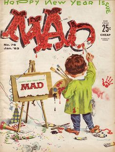 MAD Magazine Cover No. 76 Jan. '63 | Flickr - Photo Sharing!