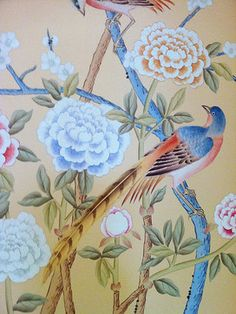 Griffin and Wong Chinoiserie Handpainted wallpaper - asian - accessories and decor - vancouver - Griffin and Wong Ltd